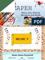 MUSIC LESSON 1 grade 5