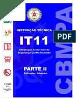IT-11-Parte-II EDIFICAÇÕES EXISTENTES cbmpa