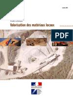 Guide technique - valorisation des matériaux locaux
