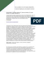 Alteraciones metabólicas asociadas al uso de terapia antipsicótica