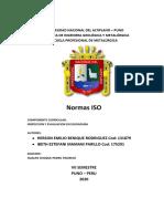 Normas ISO monografia grupo 2