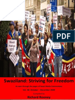 Swaziland Striving for Freedom Vol 40 Oct to Dec 2020