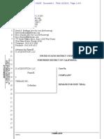 JJ Acquisition v. Vibease - Complaint