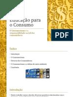 Educação para o Consumo - Power Point