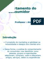 AULA 01 COMPORTAMENTO DO CONSUMIDOR