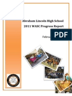Abraham Lincoln High School WASC Progress Report 2011