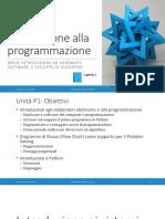 Unita' P1 - La Programmazione