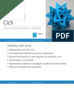 Unita' P4 - Cicli