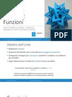 Unita' P5 - Funzioni