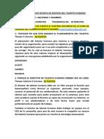 SEGUNDA EVALUACION ESCRITA DE GESTION DEL TALENTO HUMANO (1)