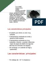 METALES NO FERROSOS PESADOS Sn, Zn (1)