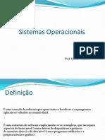 Aula 1 - Sistemas Operacionais