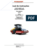 Rolo vibratório Dynapac - Manual de instruções - Operação e manutenção - 01797 [ E 2 ].pdf