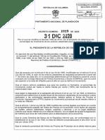 DECRETO 1820 DEL 31 DE DICIEMBRE DE 2020
