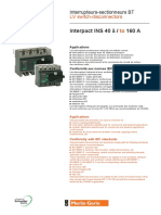 2-Fiche Technique Interrupteurs INS 40 & INS2500