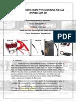 06. Cinco Manutenções corretivas comuns na sua impressora 3D