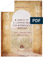 In search of a common base for interreligious dialogue