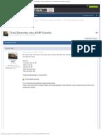 [Tuto] Demonter vitre A3 8P 2 portes - A3 8P _ A3 8PA Sportback _ A3 Cabriolet -