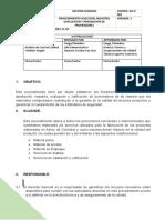 PROCEDIMIENTO SELECCION, REGISTRO, EVALUACION Y APROBACION DE PROVERDORES.docx