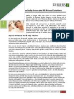 Scalp Inflammation and Dandruff