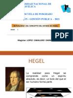 Hegel Concepto de Estado