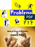 PROBLEMS DISTINGUISHED-JAYANTI PATEL