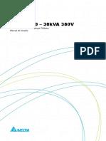 Manual do usuário - Série H - 10-30 KVA - 380V - 5011309603