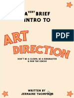 a brief intro to art direction