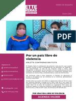 Boletín 1 Congresista Arlette Contreras