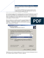 Como montar un servidor de paginas web en Windows XP PRO
