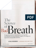The Science of Bad Breath