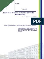 BTCU_21_de_24_08_2020_Especial -  Recebimento de DBRs