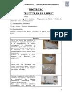 PROYECTO ESTRUCTURAS DE PAPEL