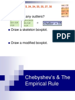 Lesson 5 - Chebyshev and Empirical Rule