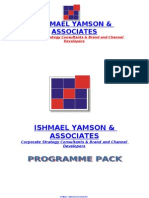 Training Programme Pack - 2011-02