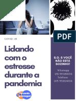 e-book Lidando com estresse durante a pandemia