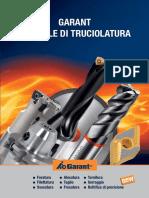 Manuale Truciolatura GARANT Www.roboticTools.it