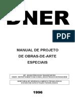 698 Manual de Projeto de Obras de Arte Especiais