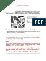 TD DE METALLURGIE1899