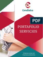 PORTAFOLIO DE SERVICIOS - CENDIATRA