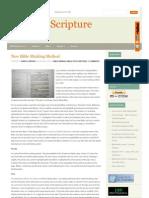 Studiesinscripture Com