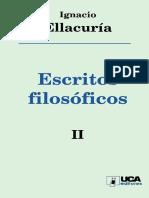 Ellacuría, I. Escritos filosóficos 2. 1999.pdf