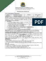 Variáveis Complexas - DMA10115