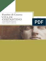 Eusebio Di Cesarea_ Laura Franco (Ed.) - Vita Di Costantino-BUR (2009)