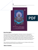 The Gnostic World - 1st Edition - Garry W. Trompf - Gunner B. Mikkel - Table of Contents