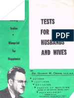 Tests for Husbands and Wives (1930s)