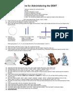 Denver 2 Instructions