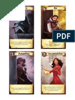 Citadels characters cards