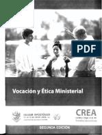 VOCACION Y ETICA_ MINISTERIAL 20150428194147