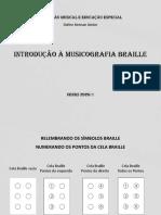introdução musicografia Braille